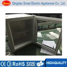 Réfrigérateur de porte en verre d'hôtel Minibars mini avec la serrure