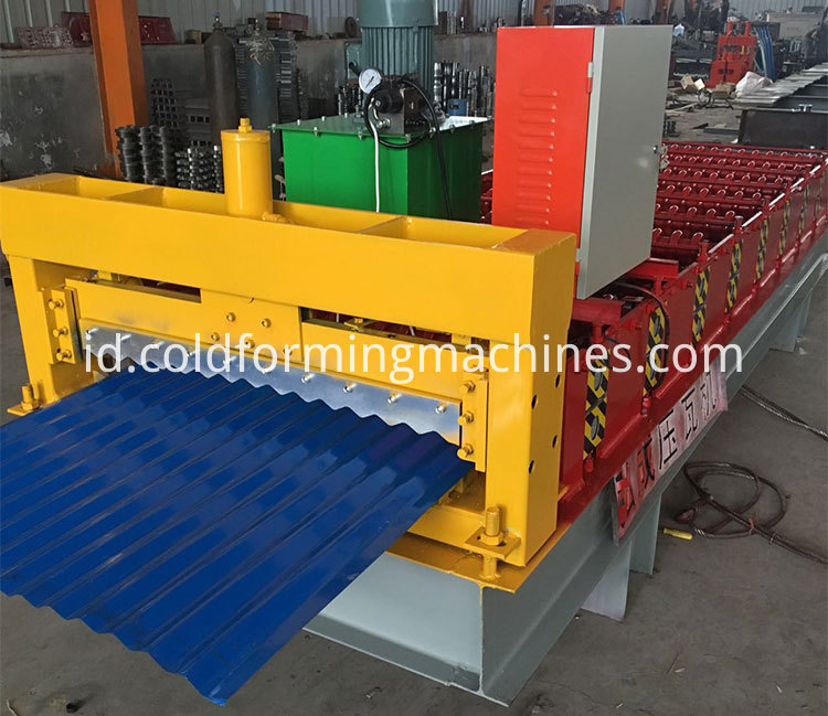 Corrugated Roof Roll Forming Machine 12