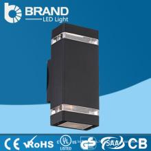 Impermeable IP65 al aire libre 2X6X1 vatio 12W llevó la luz de la pared