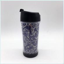 Eco freundlicher BPA freier 14oz doppelter Wand-Reise-Becher, PP doppelte ummauerte Kaffeetasse