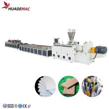máquina de fabricación de compuestos de madera y plástico wpc