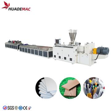 máquina de fazer compósitos de madeira e plástico wpc