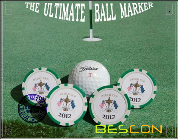 Custom Printing Golf Ball Markers