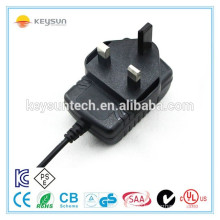 Battery charger 9 volt ac power adapter 6W for led lights