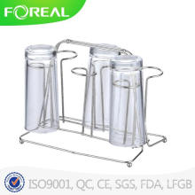 Acessórios de cozinha Gancho de copo de vidro