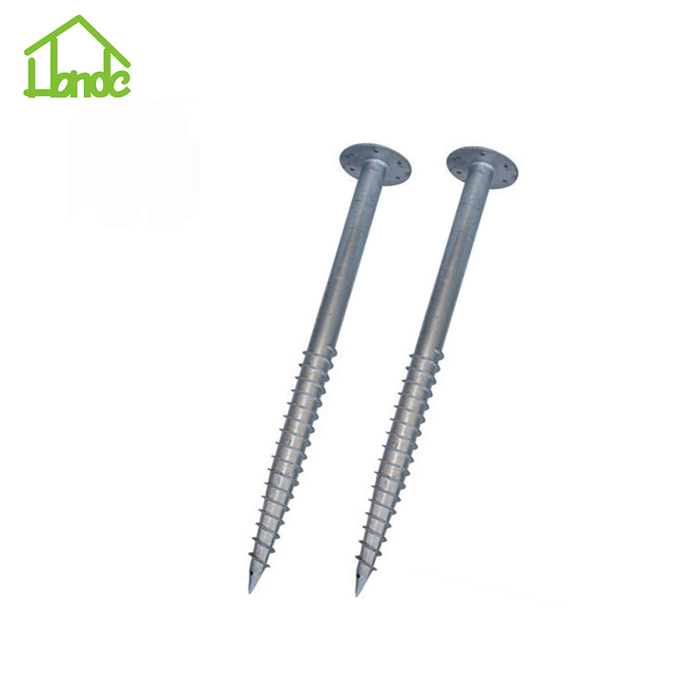 ベストセラー製品Building Foundation Ground Screw