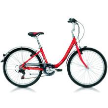 Bicicleta de ciudad de alta calidad para mujeres de 7 velocidades (FP-LDB-030)
