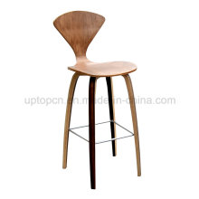 Laminate Plywood Norman Cherner Replica Bar Stool (SP-BC462)