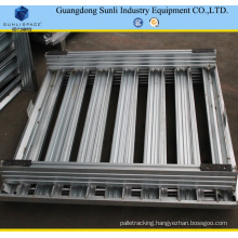 1200X800 Stackable Galvanized Steel Storage Pallet