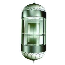 Elevador de observação com cabine de vidro para turismo