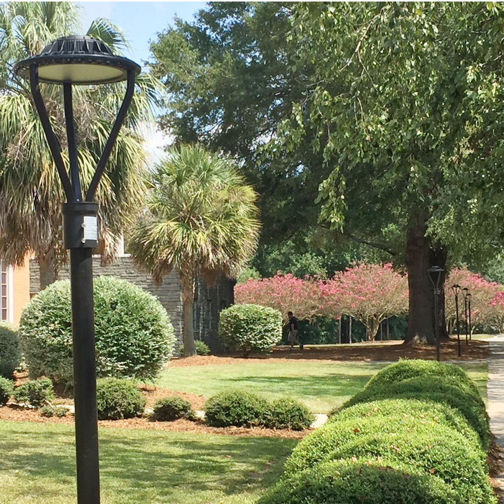 Outdoor Post Top Lamps For Garden Pathway-4