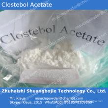 Acétate de Clostebol à poudre stéroïde orale populaire pour Body Building / 855-19-6