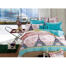3D Eiffelturm Druck Bettwäsche Set Bettdecke Set und Bettwäsche Sets Textilgewebe