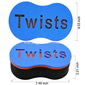 Cepillo de pelo esponja Twist Wave Barber Tool