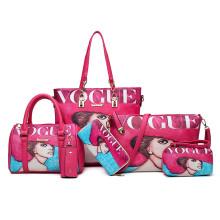 Lady-Handbag Bag with Inner Bag Handbag for Wholesale