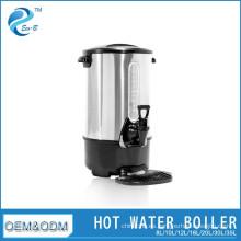 Cafetera de café caliente de acero inoxidable comercial 8-35L de restaurante de la mejor venta