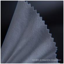 Tecido interlining tecido de algodão para chapéu e boné
