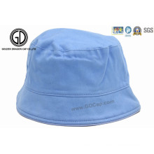 100% coton bon en blanc simple chapeau de godet pour bébé