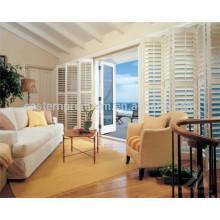 China Hause Lindenholz Plantage Fensterläden