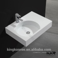 Bassins de vanité de surface solide fabriqués par professionnel, bols de vaniy