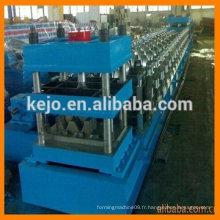 Machine de formage de rouleaux de barrage de 2 ondes fabriqué en Chine