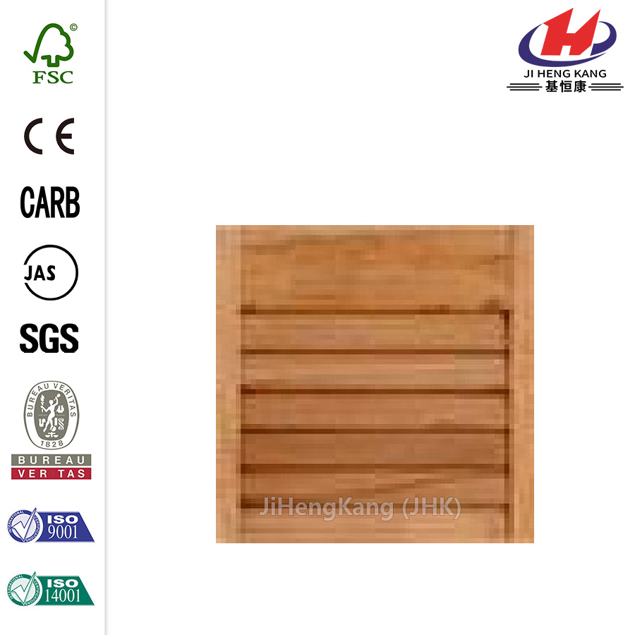 Porta Bi-fold in Teak scuro interno composito