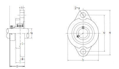 Flange Bearing Units SALF200 Series