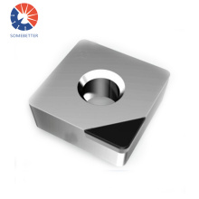 Extremely hard PCD and PCBN inserts for CNC turning machine