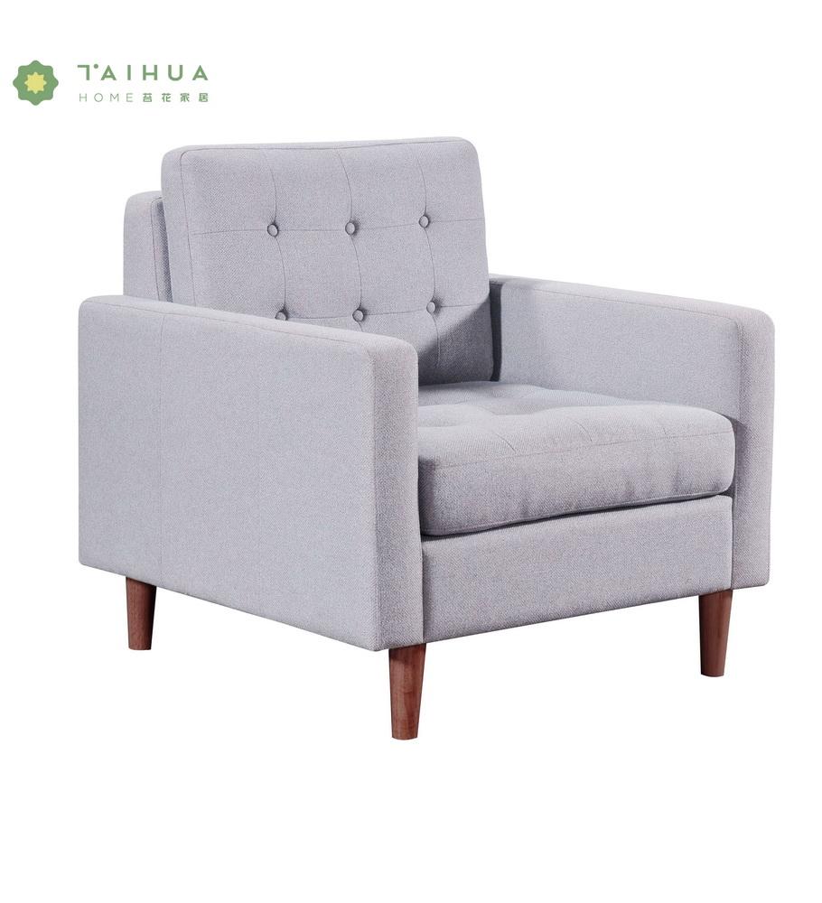 Single Seat Sofa Grey