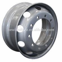 NEWLAND 22.5 rodas de liga leve de rodas de rodas de aço