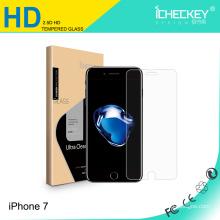Téléphone mobile utiliser nouveau protecteur d'écran en verre trempé prime pour iPhone7
