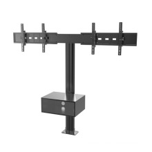 "Public TV Floor Stand Floormount Base Dual Screens 30-60"" Mediabox (AVA 203E)"