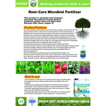 Fertilisant microbien des racines