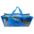 Recycled extra large cheap pp woven reusable bags for shopping