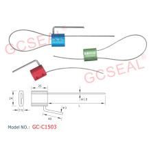 Alta calidad doble cierre seguridad Cable sello GCC1503