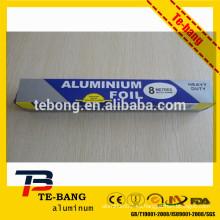 Papel de aluminio para mantener la cocina limpia