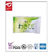 kosher 2.5g fornecedor wasabi china colar