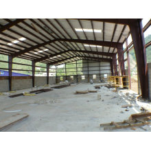 Galería de estructura prefabricada de acero de bajo costo de gran tamaño de 2015