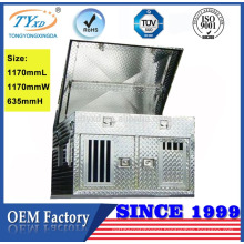 heavy duty metal aluminum dog crate