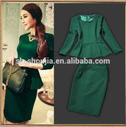 Elegant and decent women office skirt suit