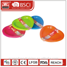 Colorful apple shape Plastic plate