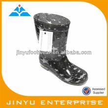 Chaussure de pluie PVC bon marché pour enfant