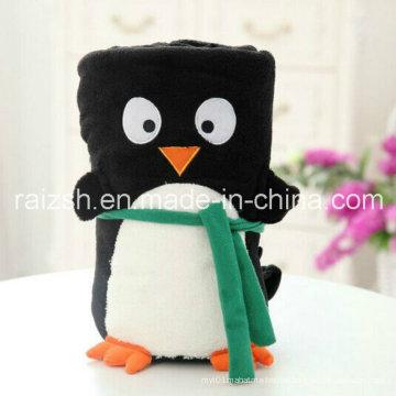 Plush Toys Cartoon Animal Folded Napping Blankets
