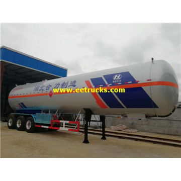 60m3 30MT LPG Transport Tanker Trailers