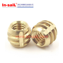China Factory Brass Thread Insert Nut for Plastic