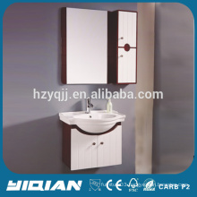 PVC Shaving Storage Waterproof Wall Mounted Mirrored Small Bath Vanities