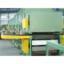 Continuous PU Foam Sandwich Panel Production Line Roll Forming Machine