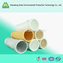Polyester sacs filtrants poussière filte sacs sac filtre anti-statique
