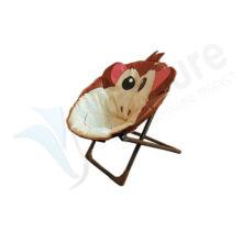 Neuer Art-preiswerter faltbarer tragbarer Karikatur-Kind-Moon Chair \ Stoff Bequeme Kindersitz-Stuhl \ verschiedene Tierart-Kinderstuhl