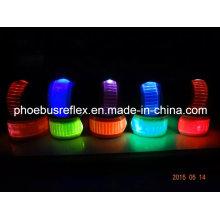 Bande de poignet réfléchissante de sécurité LED